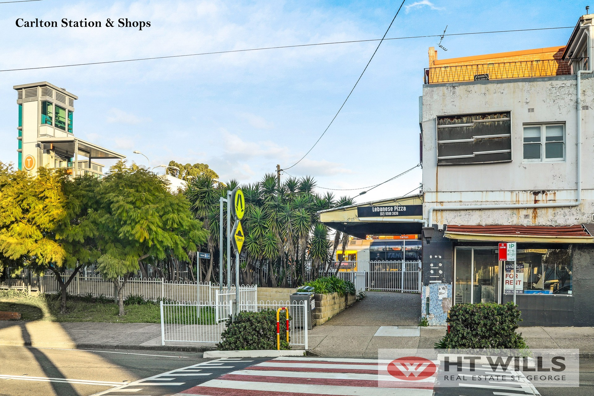 Image: Walking distance to Carlton station and shops