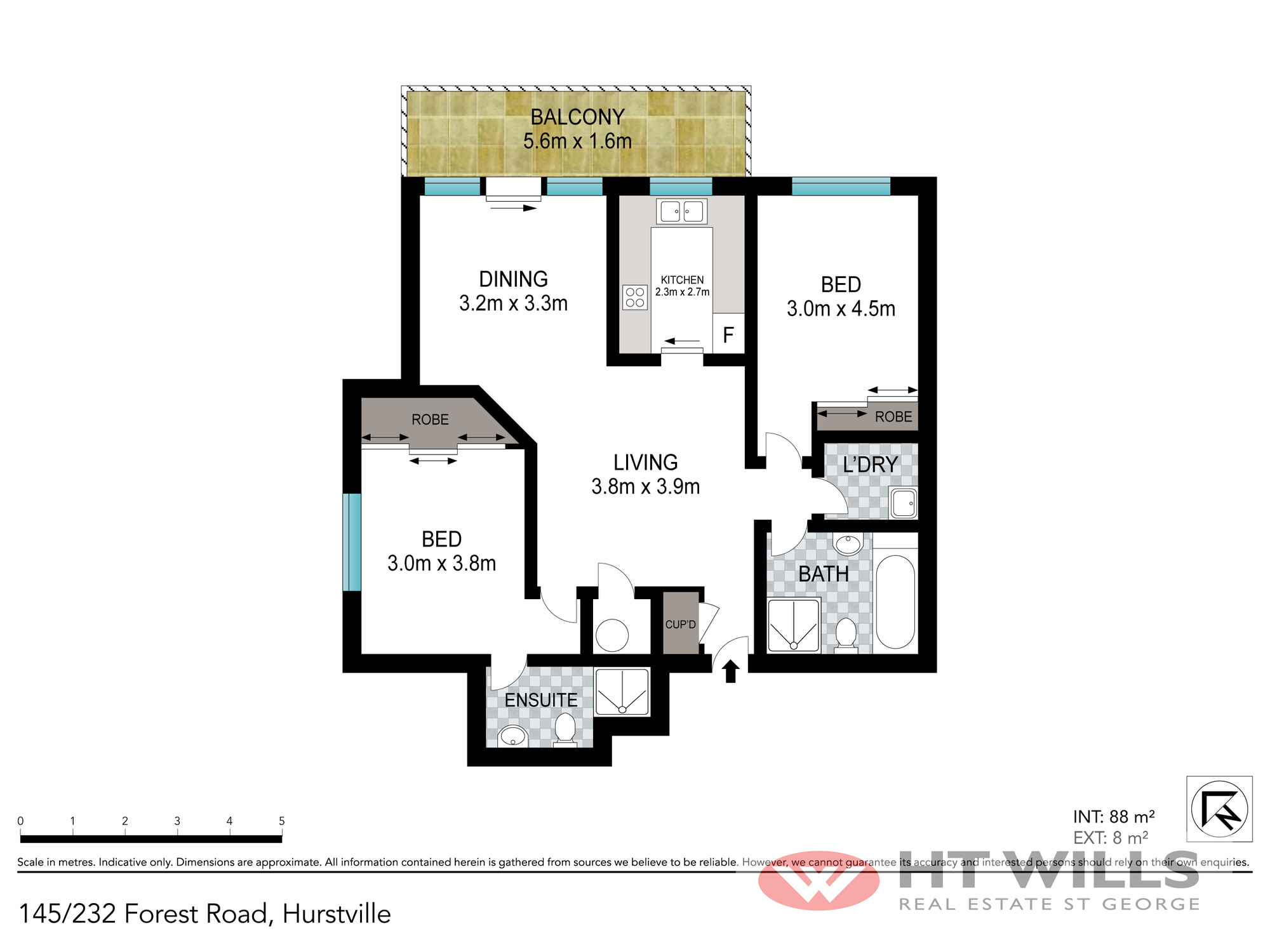 Image: Sunny 11th floor apartment