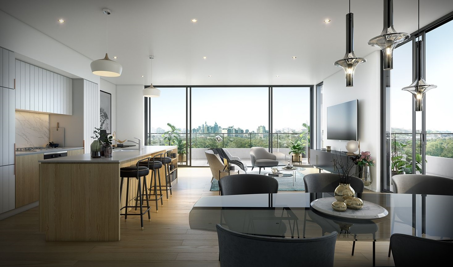Contemporary Lifestyle in the City