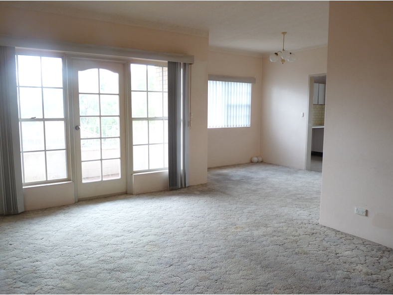 2 Bedroom Unit with 2 Sunny Balconies