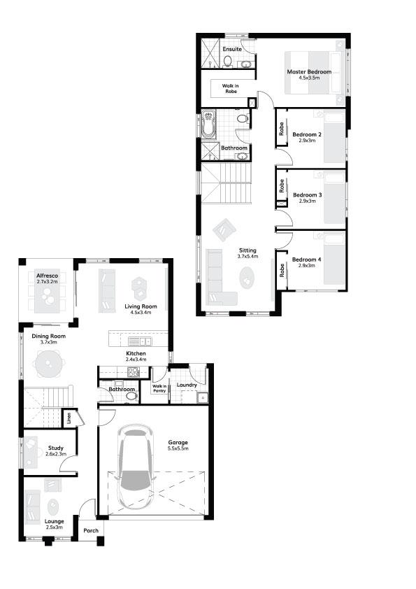 L4115852 MENANGLE PARK NSW 2563 - Floor plan