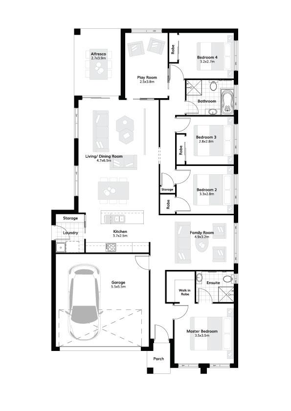 L4116024 ORAN PARK NSW 2570 - Floor plan