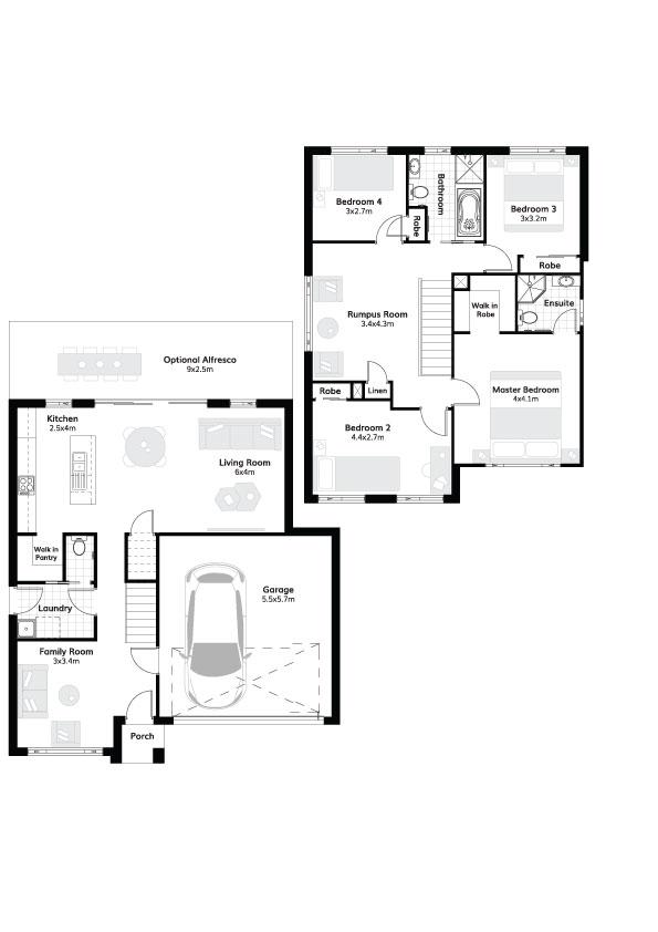L4307648 SCHOFIELDS NSW 2762 - Floor plan