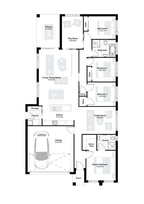 L4307934 GLEDSWOOD HILLS NSW 2557 - Floor plan