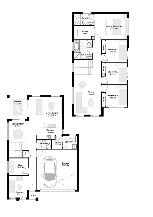 L4307941 GLEDSWOOD HILLS NSW 2557 - Floor plan