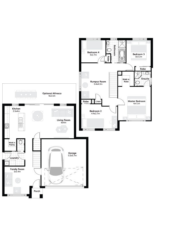 L4307641 SCHOFIELDS NSW 2762 - Floor plan