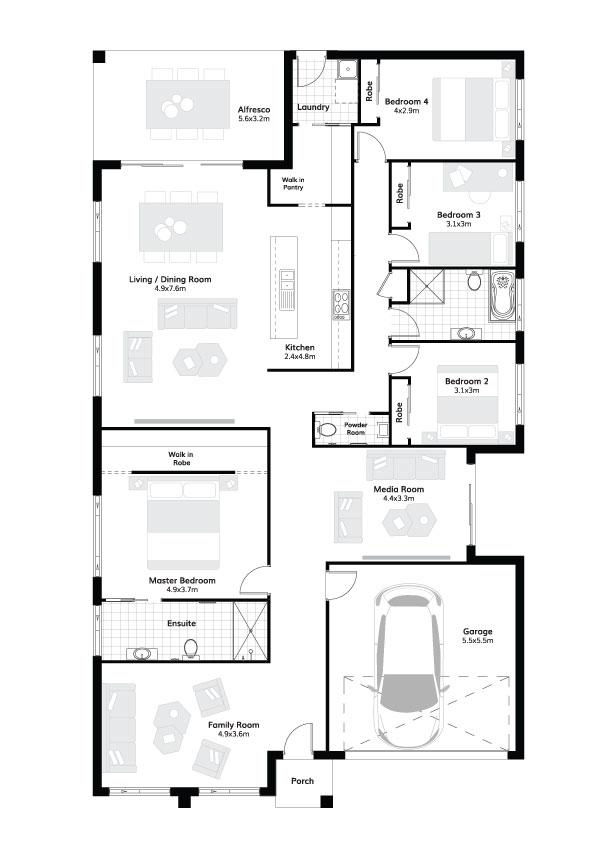L4632950 BARDEN RIDGE NSW 2234 - Floor plan