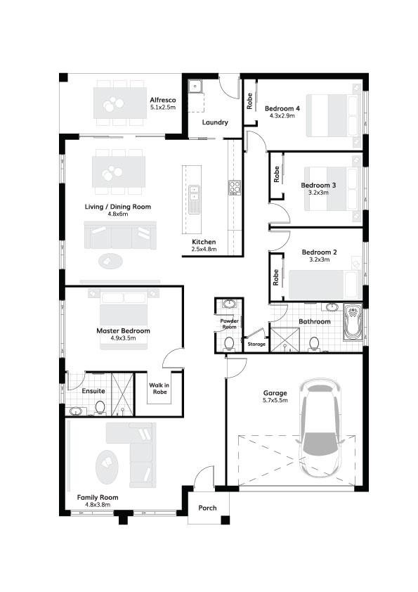L7592678 SPRING FARM NSW 2570 - Floor plan