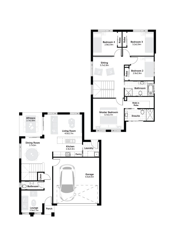 L8185371 AUSTRAL NSW 2179 - Floor plan