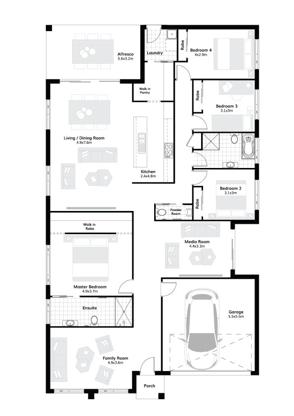 L8489988 CLYDESDALE NSW 2330 - Floor plan