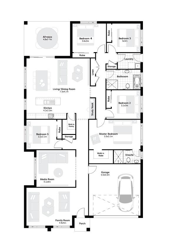 L9760109 TAHMOOR NSW 2573 - Floor plan