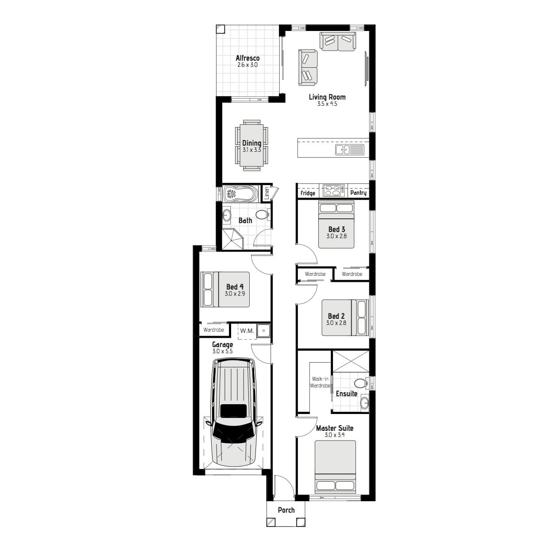 L11094175 AUSTRAL NSW 2179 - Floor plan