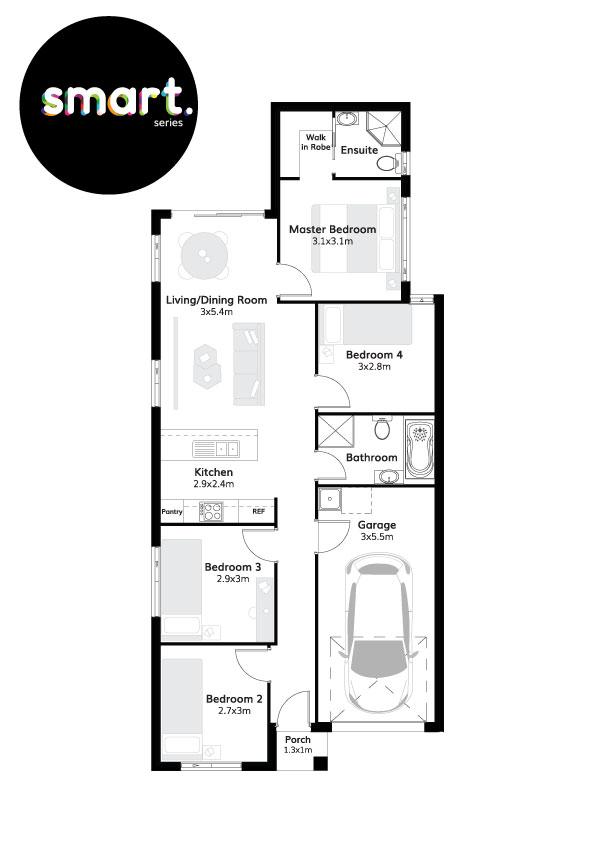 L11094271 AUSTRAL NSW 2179 - Floor plan