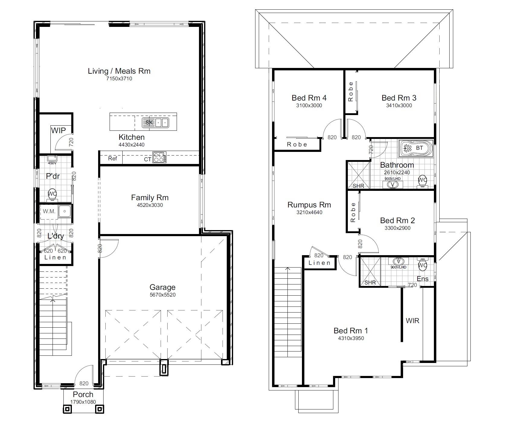 L11232404 AUSTRAL NSW 2179 - Floor plan