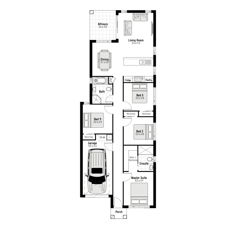 L12411784 MIDDLETON GRANGE NSW 2171 - Floor plan