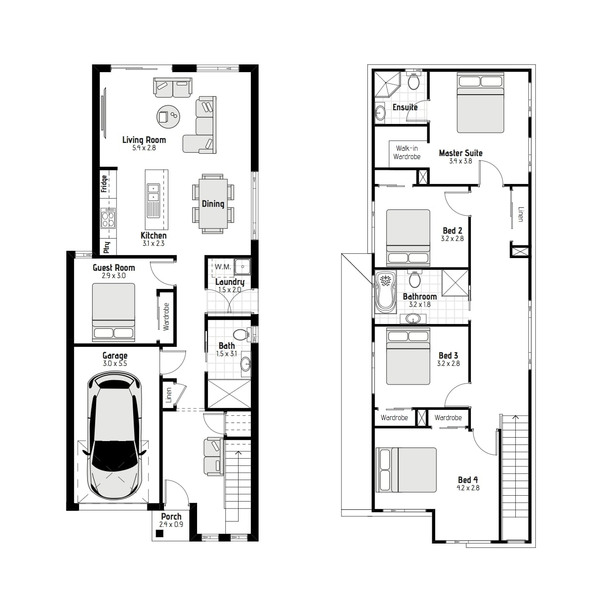 21974049 ROUSE HILL NSW 2155 - Floor plan