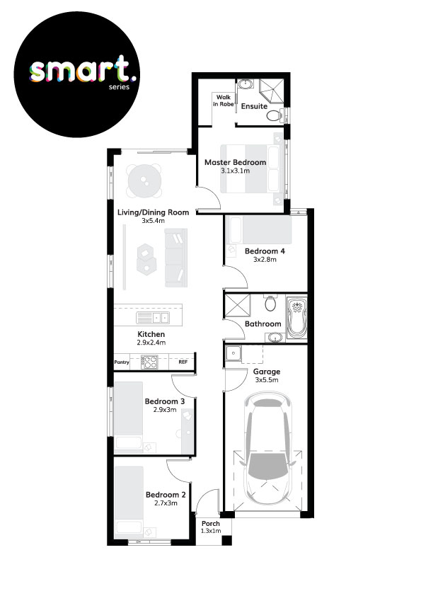 22320379 LEPPINGTON NSW 2179 - Floor plan