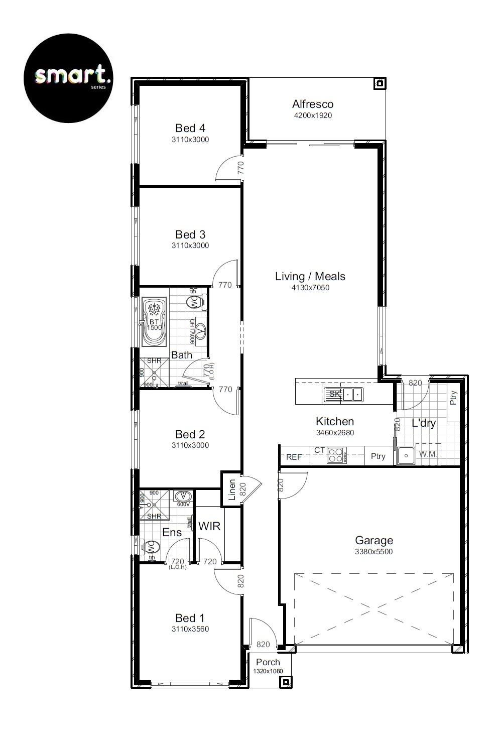 22170617 MENANGLE PARK NSW 2563 - Floor plan