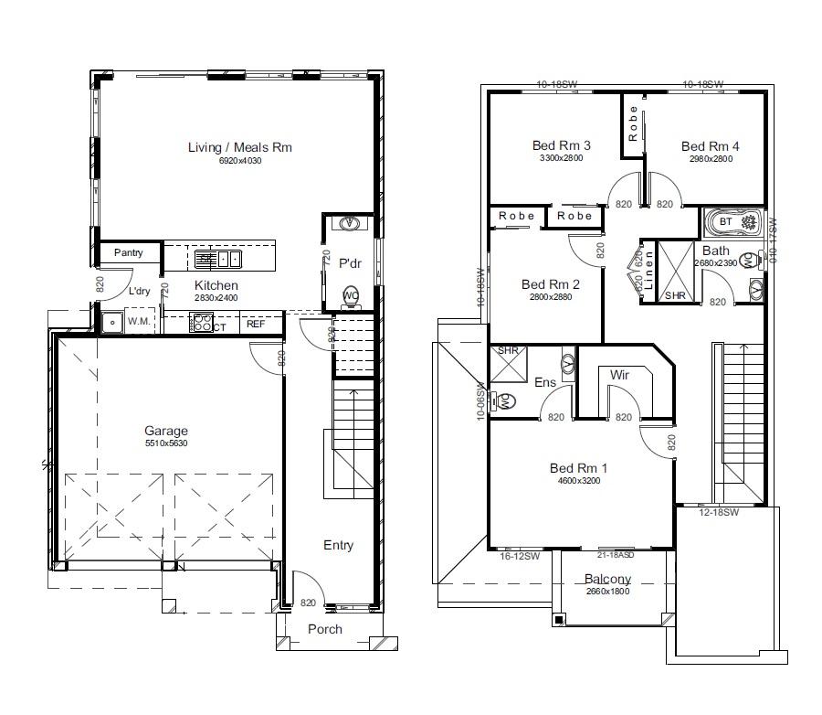 22358932 LEPPINGTON NSW 2179 - Floor plan