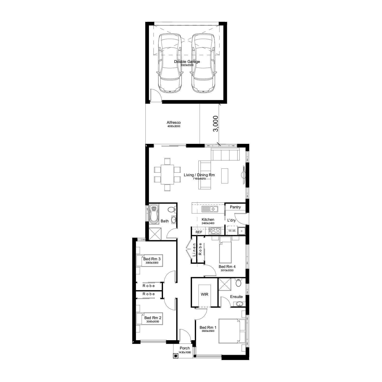 L3442184 BARDIA NSW 2565 - Floor plan