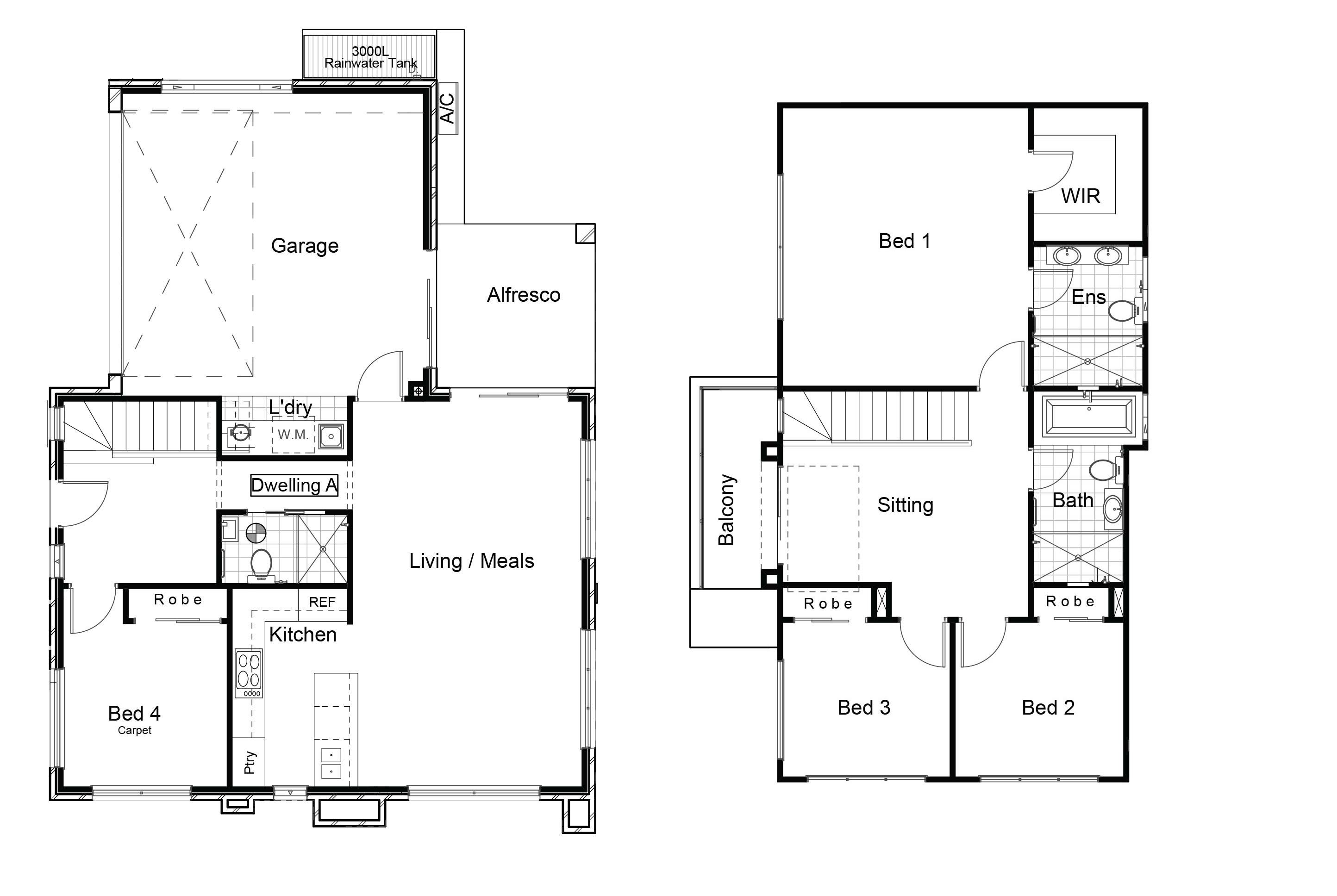 22378803 BOX HILL NSW 2765 - Floor plan