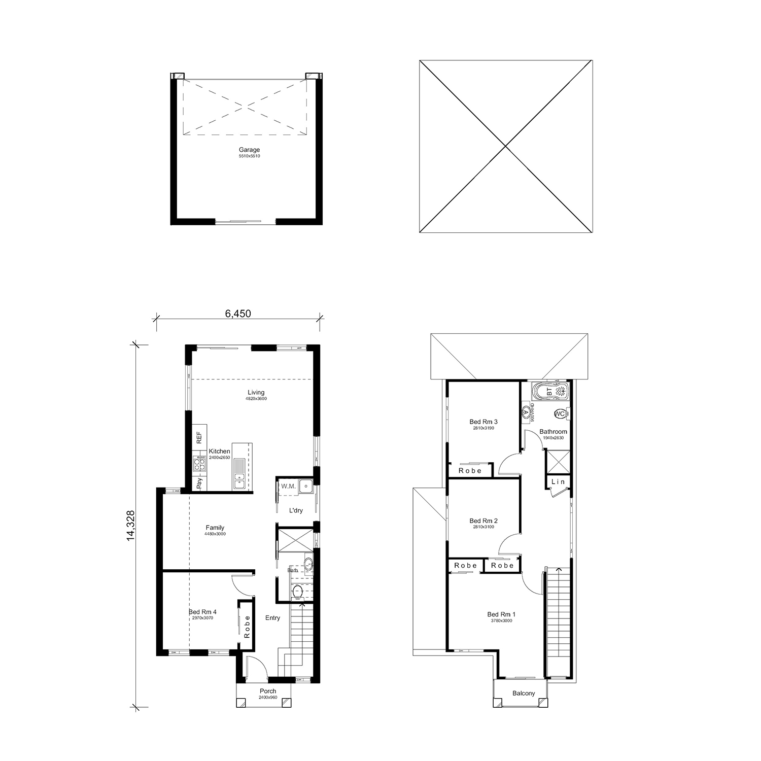 L3442468 BARDIA NSW 2565 - Floor plan