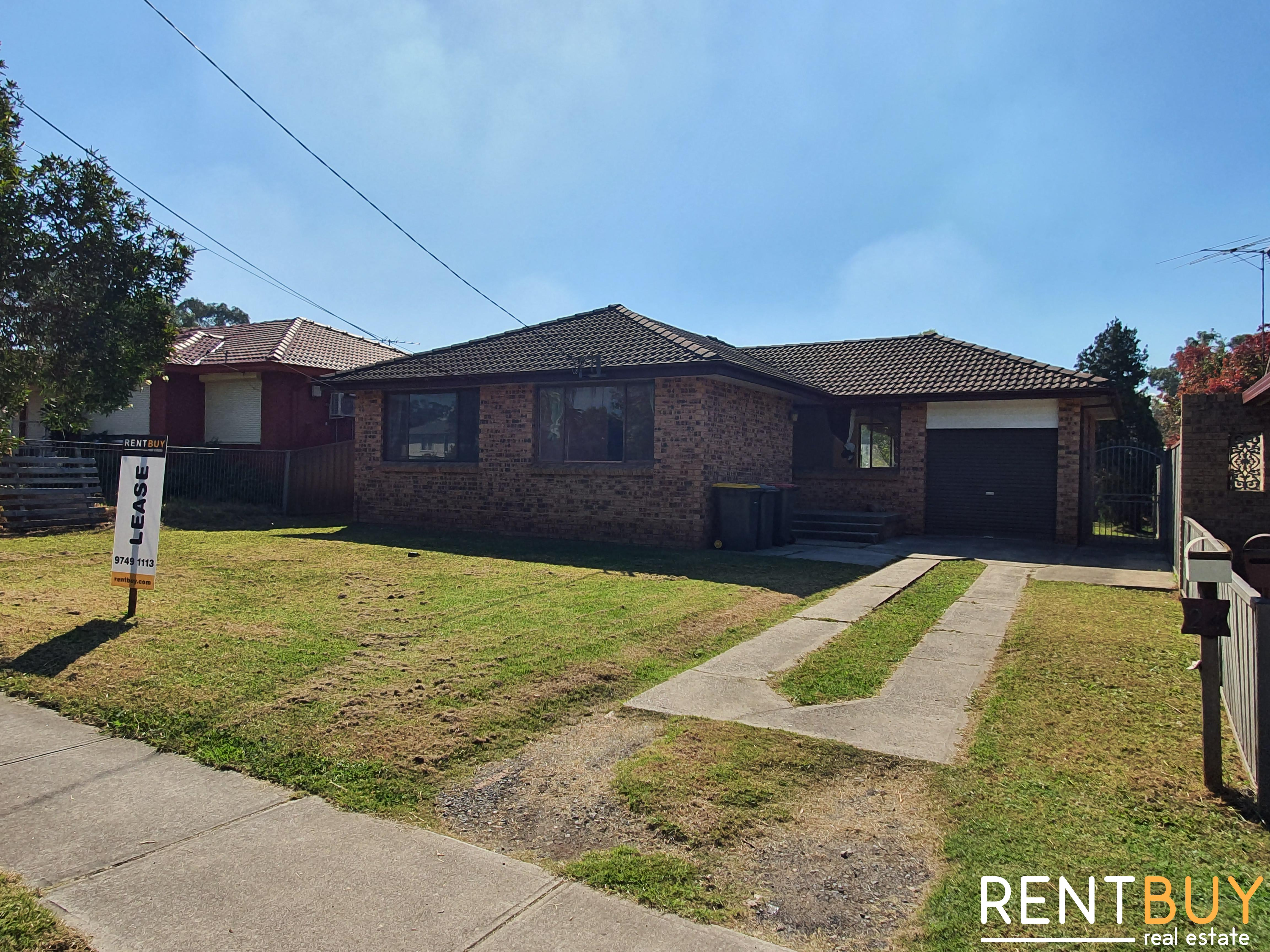 Spacious 3 Bedroom House For Lease