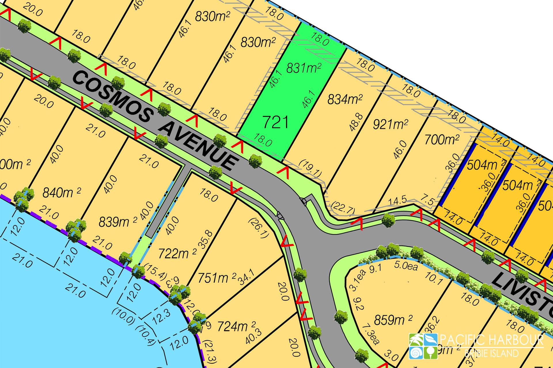 RARE WATERSIDE LAND OVER 800M2
