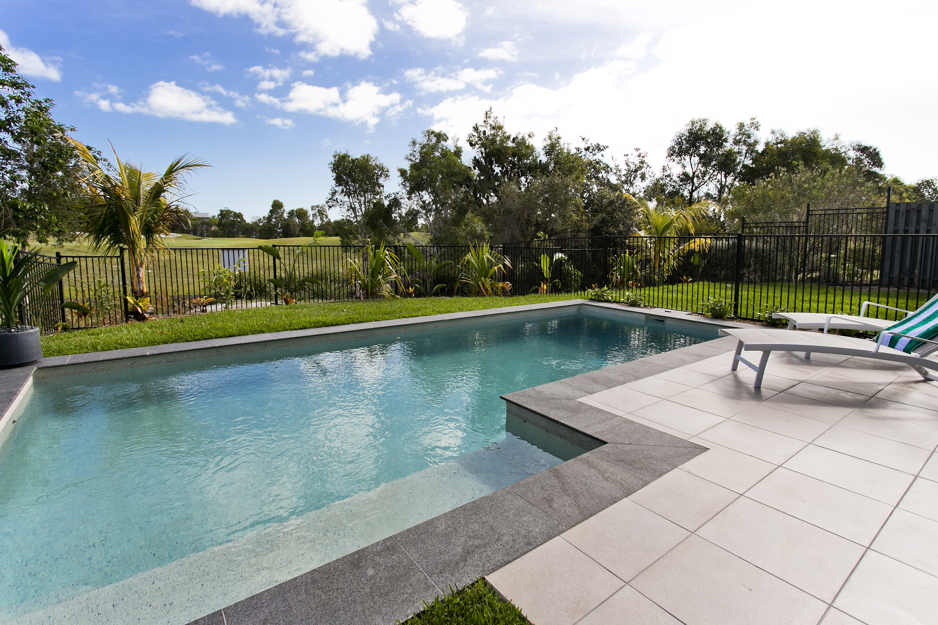 STYLISH ENTERTAINERS HOME with POOL & WATER VIEWS