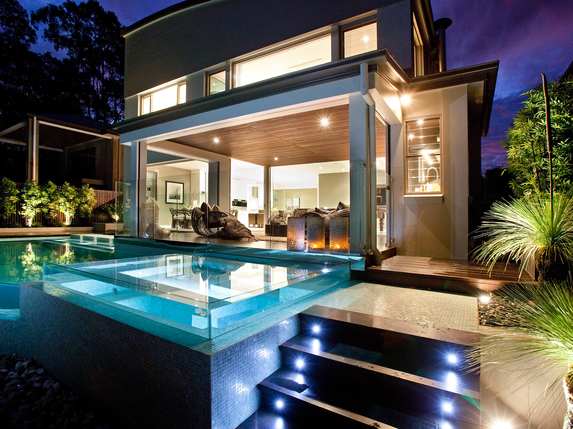 MAJESTIC TWO-LEVEL HOME WITH POOL