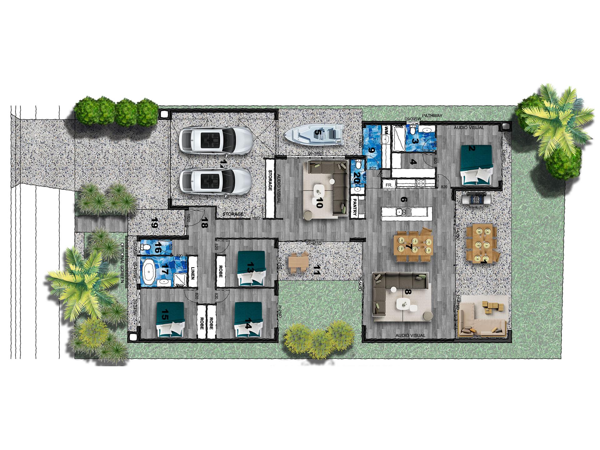 Banksia Beach – L10551807 Floor Plan