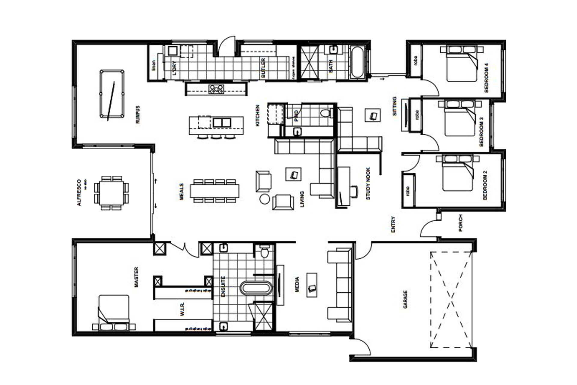Banksia Beach – L14385696 Floor Plan