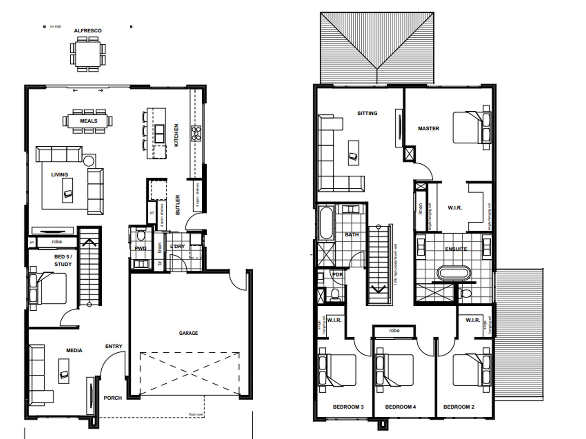 Banksia Beach – L14387663 Floor Plan