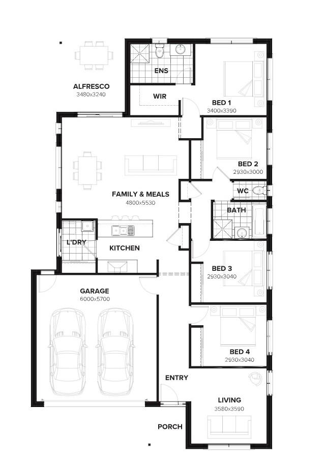 Jimboomba – L7221104 Floor Plan