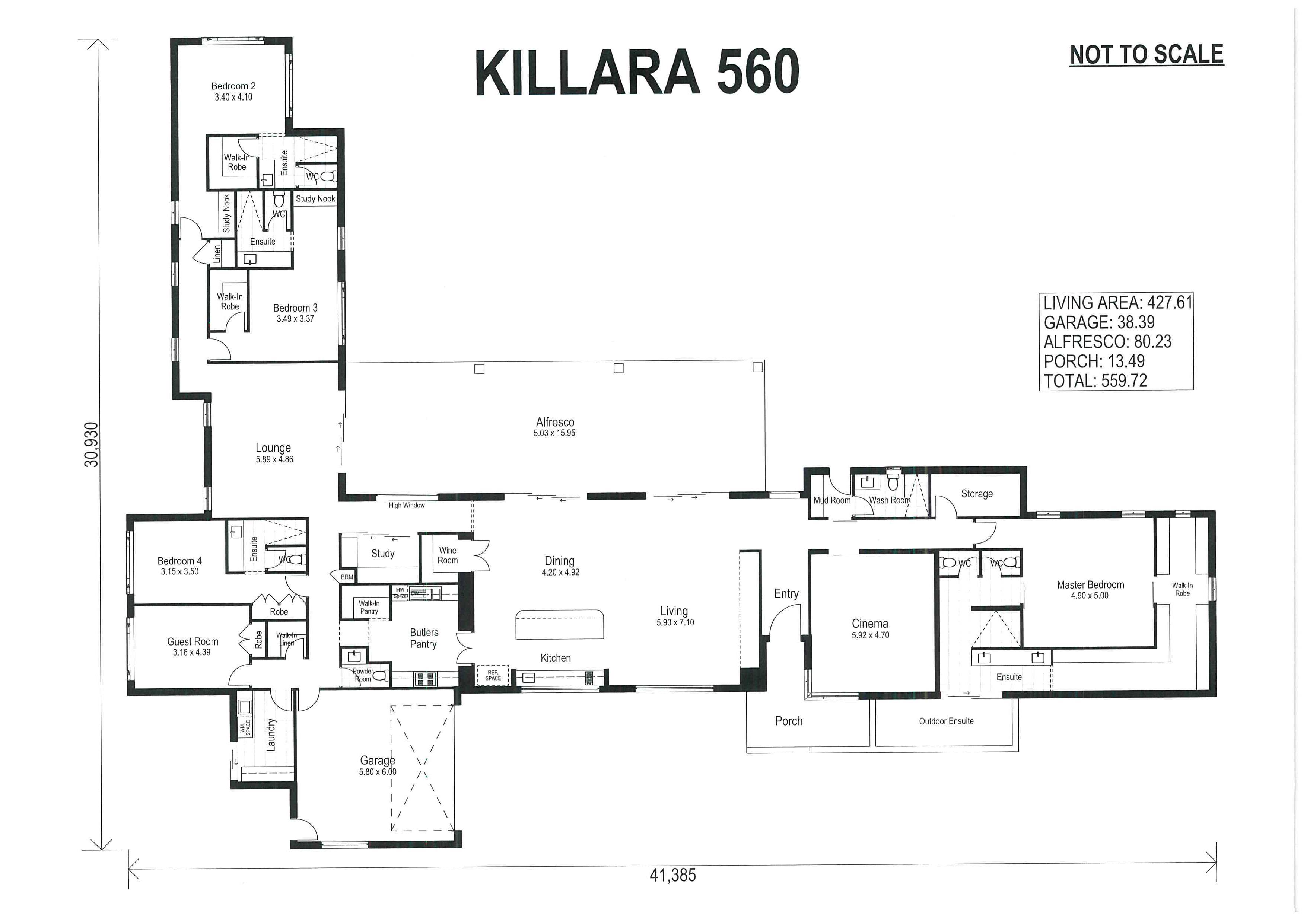 Jimboomba – L11213763 Floor Plan