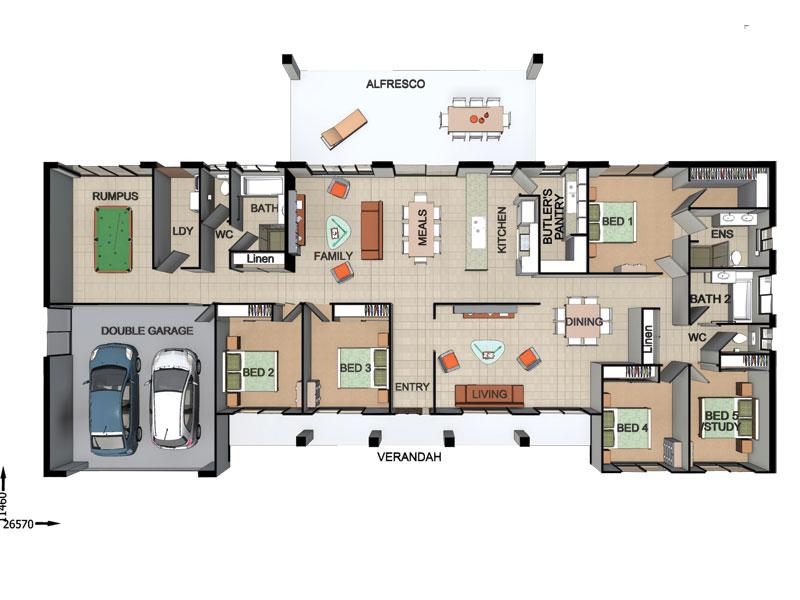Woodhill – L12408705 Floor Plan