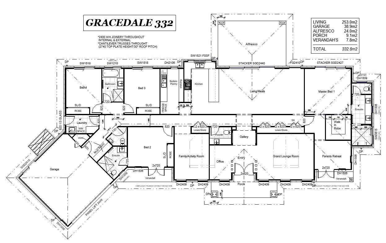 Woodhill – L12408784 Floor Plan