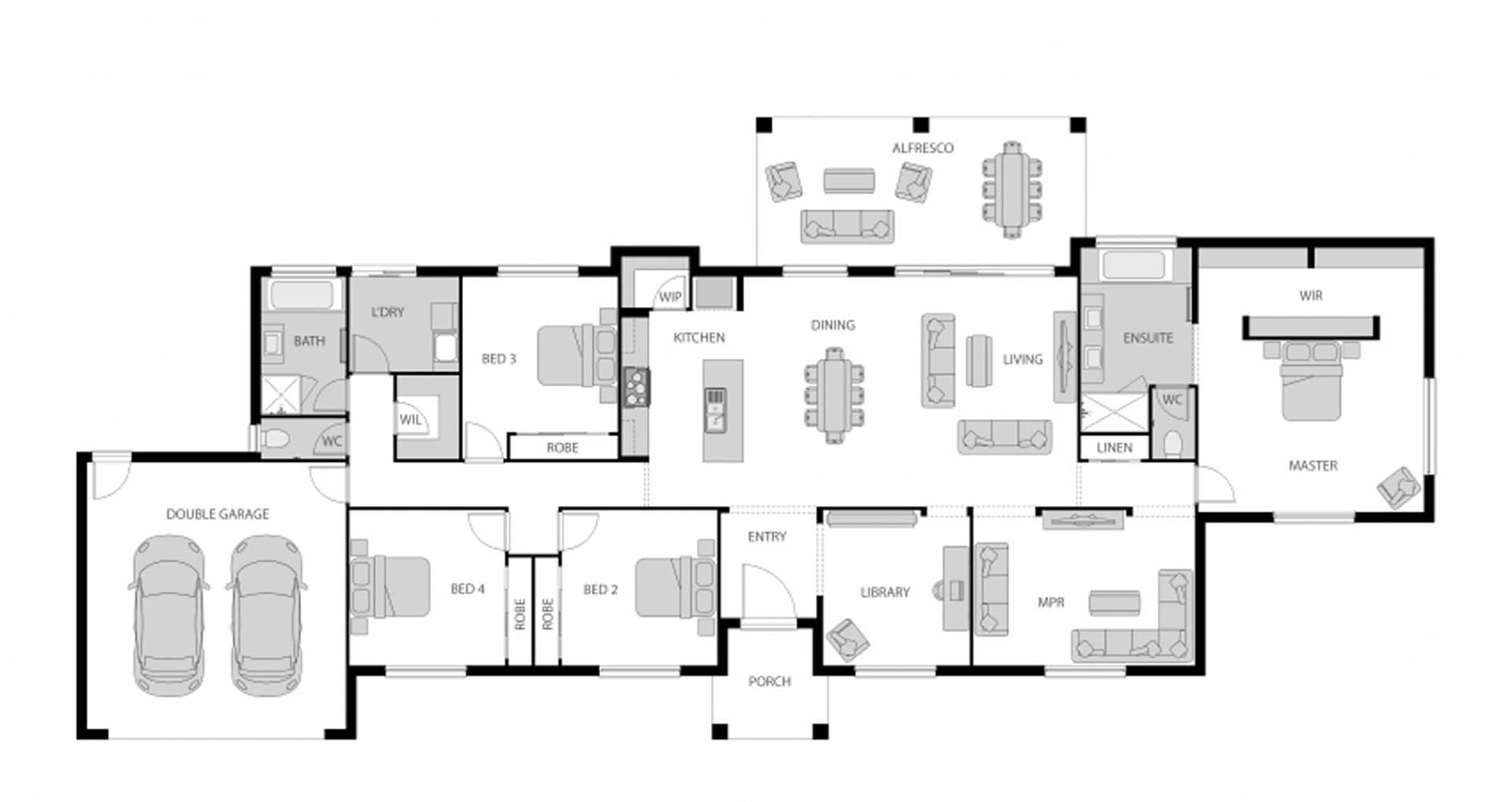 Woodhill – 22427016 Floor Plan