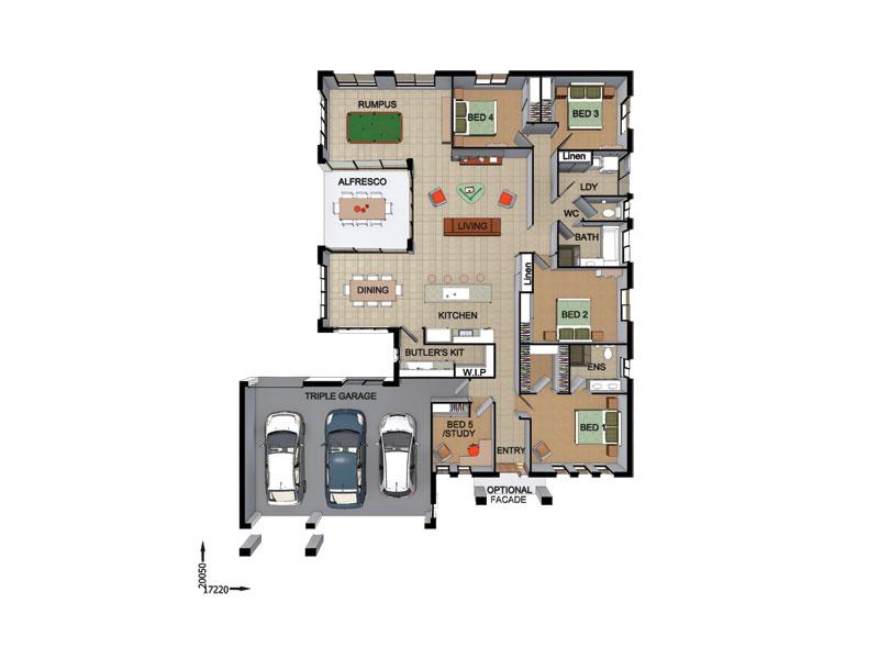 Woodhill – 22451936 Floor Plan
